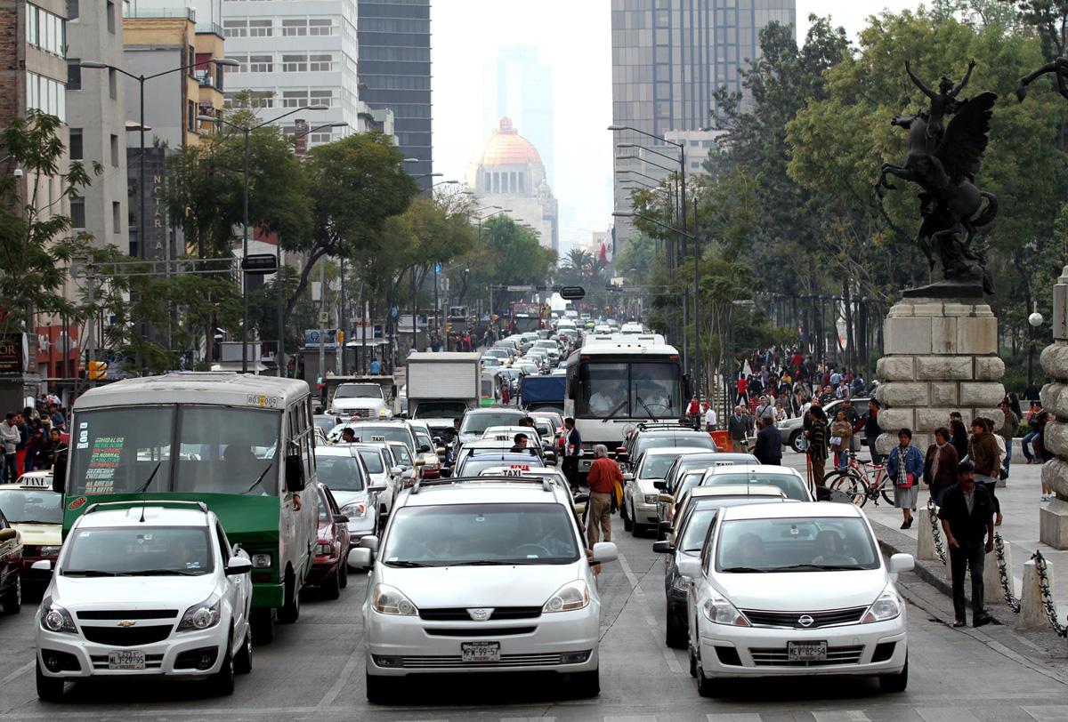 transporte ciudad de mexico, trabajo