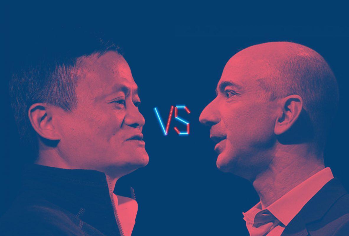 Jack Ma, Jeff Bezos, Amazon, Alibaba