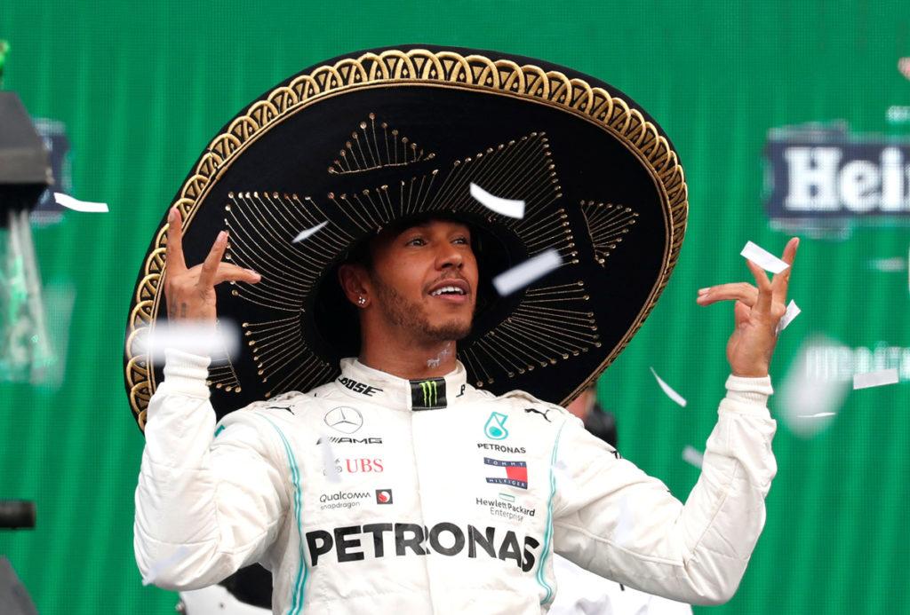 Piloto Lewis Hamilton